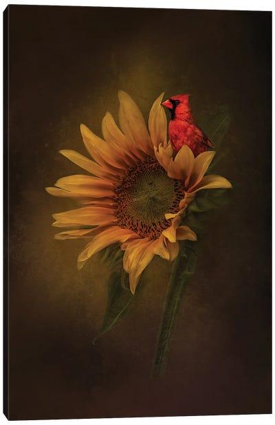 Floral Throne Canvas Art Print