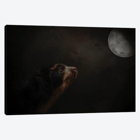 Moon Gazer Canvas Print #KPK76} by Kelley Parker Canvas Wall Art