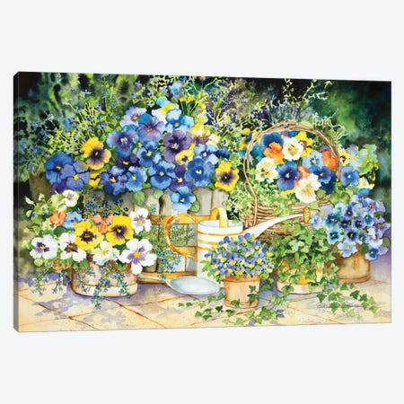 Simply Charming Canvas Print #KPM21} by Kathleen Parr McKenna Canvas Artwork