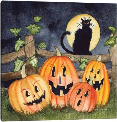 Haunting Halloween Night I Canvas Art Print