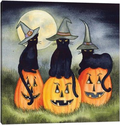 Haunting Halloween Night II Canvas Art Print