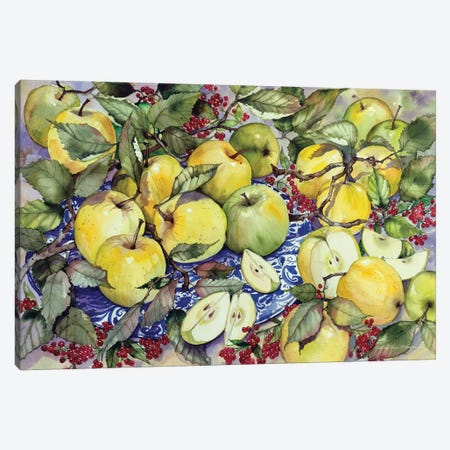 Just Picked Canvas Print #KPM26} by Kathleen Parr McKenna Canvas Print