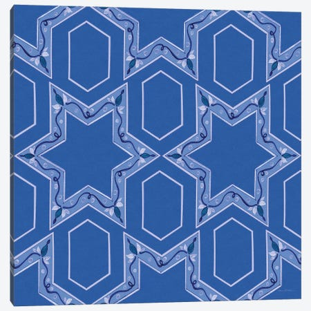Celebrating Hanukkah Pattern VIII Canvas Print #KPM27} by Kathleen Parr McKenna Canvas Print