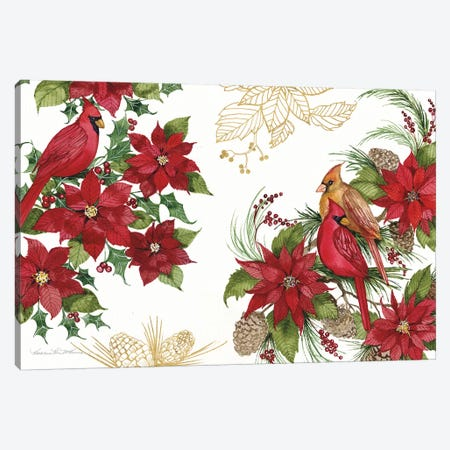 Holiday Happiness VII Canvas Print #KPM29} by Kathleen Parr McKenna Canvas Wall Art