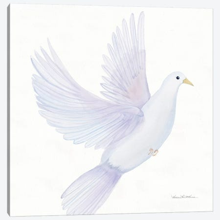 Easter Blessing Dove I Canvas Print #KPM2} by Kathleen Parr McKenna Canvas Print