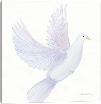 Easter Blessing Dove I Canvas Art Print