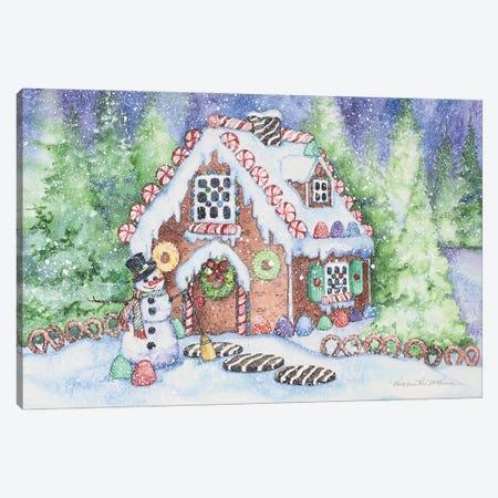 Gingerbread House Canvas Print #KPM35} by Kathleen Parr McKenna Canvas Artwork