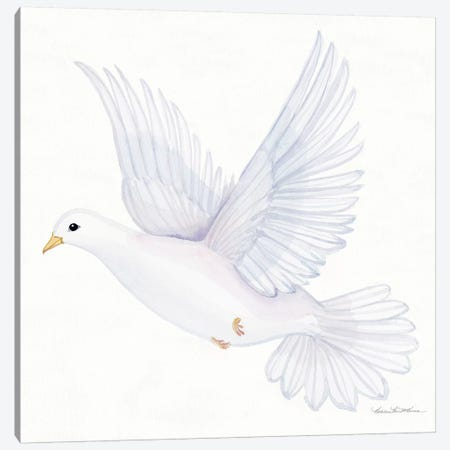 Easter Blessing Dove II Canvas Print #KPM3} by Kathleen Parr McKenna Art Print
