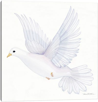 Easter Blessing Dove II Canvas Art Print