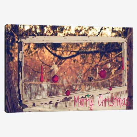 Merry Christmas Ornaments Canvas Print #KPO14} by Kelly Poynter Canvas Art