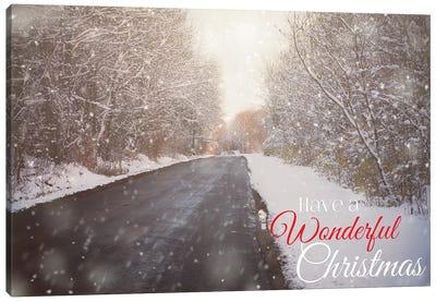 Wonderful Christmas Canvas Art Print
