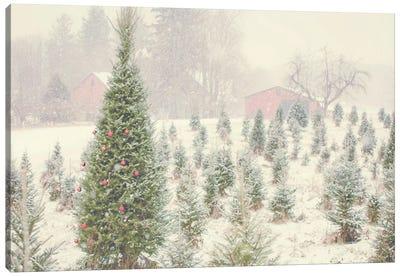 Holiday Cabin Canvas Art Print