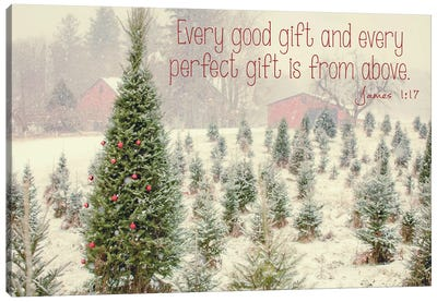 Holiday Messages I Canvas Art Print