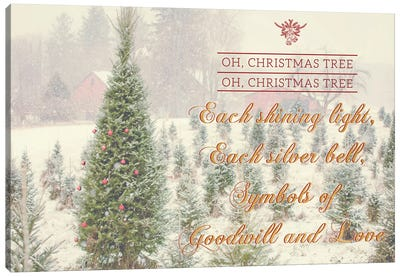 Holiday Messages II Canvas Art Print