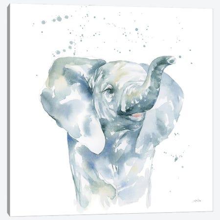 Baby Elephant Canvas Print #KPT2} by Katrina Pete Canvas Print