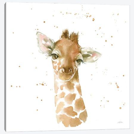 Baby Giraffe Canvas Print #KPT3} by Katrina Pete Canvas Print