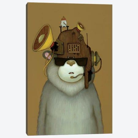 Karaoke Helmet Canvas Print #KRA25} by Kristian Adam Canvas Wall Art