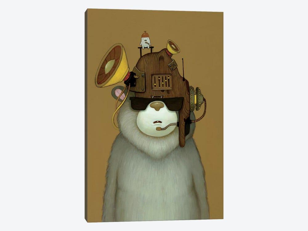 Karaoke Helmet by Kristian Adam 1-piece Canvas Art