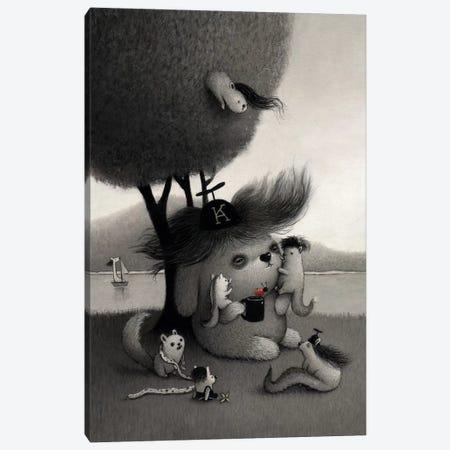 Kichiro Canvas Print #KRA26} by Kristian Adam Canvas Wall Art