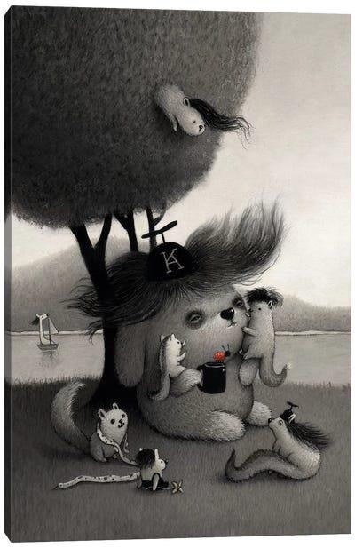 Kichiro Canvas Art Print