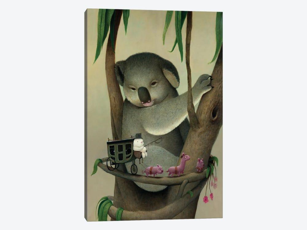 Koala by Kristian Adam 1-piece Canvas Artwork