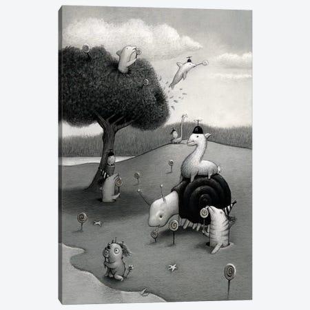 Lolipop Season Canvas Print #KRA34} by Kristian Adam Canvas Art Print