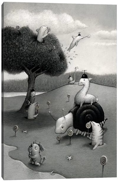 Lolipop Season Canvas Art Print
