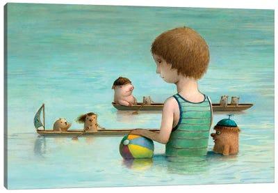 Rowing Club Canvas Art Print