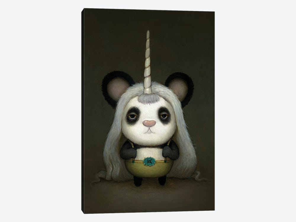 Baby Pandacorn by Kristian Adam 1-piece Canvas Art