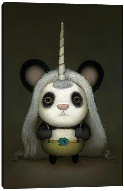 Baby Pandacorn Canvas Art Print