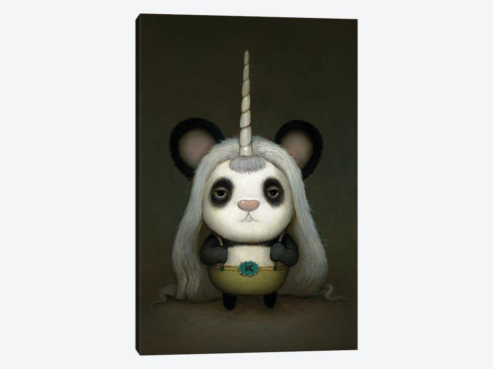 Baby Pandacorn by Kristian Adam 1-piece Canvas Art