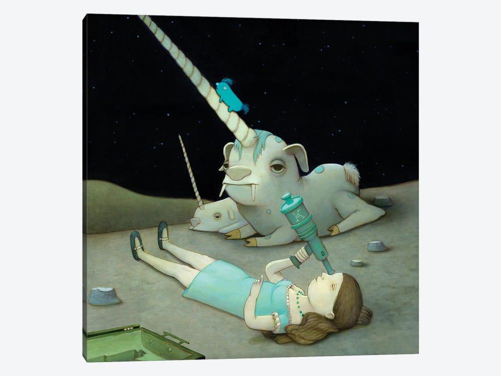 Stargazer by Kristian Adam 1-piece Canvas Artwork