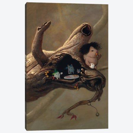 Tea In The Tree Canvas Print #KRA64} by Kristian Adam Canvas Wall Art