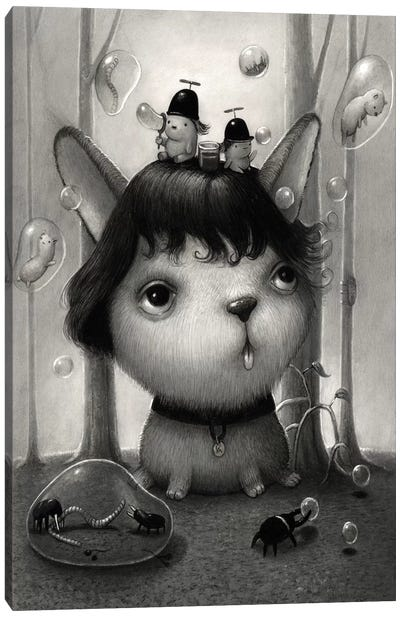 Bubbleboys Canvas Art Print