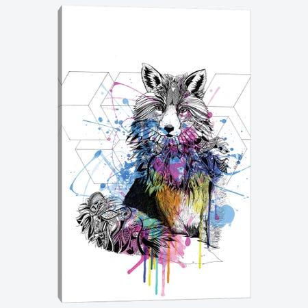 Fox Canvas Print #KRB3} by Karin Roberts Canvas Wall Art