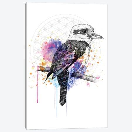 Kookaburra Canvas Print #KRB4} by Karin Roberts Art Print