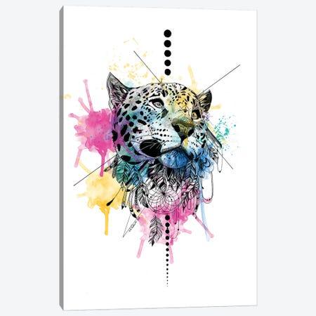 Leopard Canvas Print #KRB5} by Karin Roberts Canvas Print