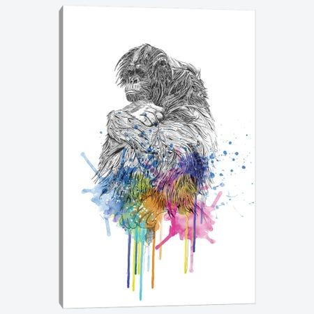Orangutan Canvas Print #KRB6} by Karin Roberts Canvas Art Print