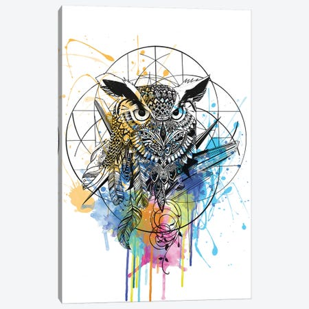 Owl Canvas Print #KRB7} by Karin Roberts Canvas Print