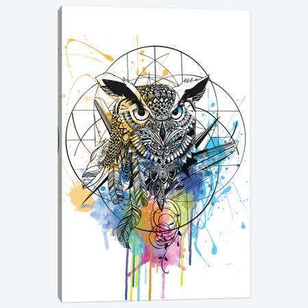 Owl Canvas Print #KRB7} by Karin Roberts Canvas Print