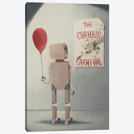 The Curious Carnival Canvas Print #KRC20} by Kris Chavez Canvas Art Print