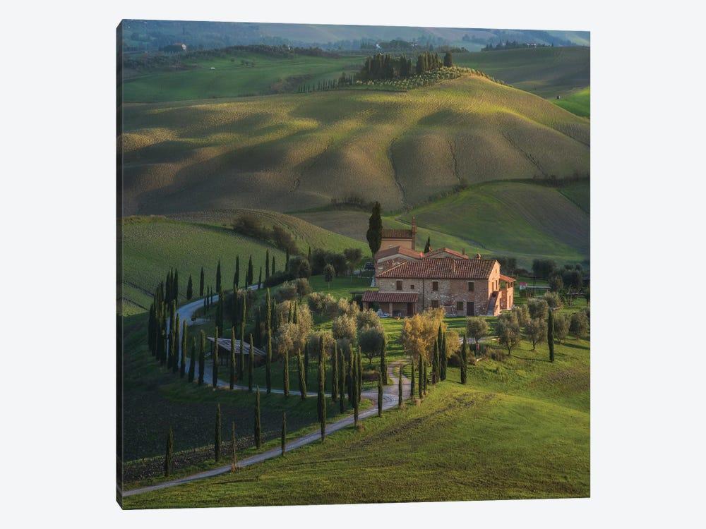 Spring In Tuscany V by Daniel Kordan 1-piece Canvas Art Print
