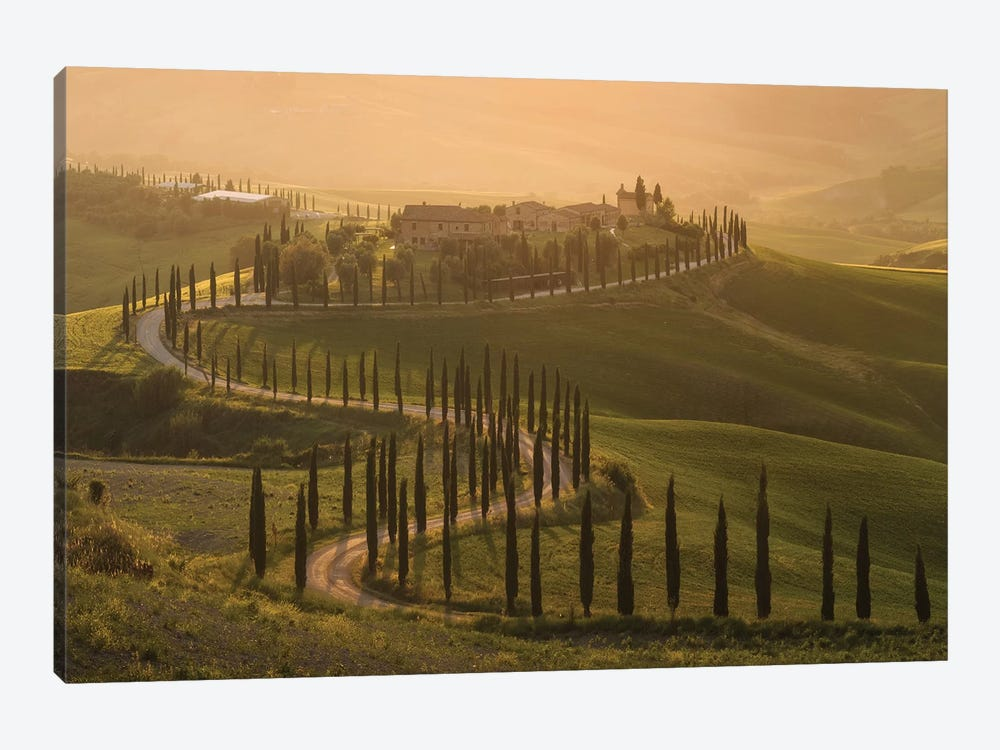 Spring In Tuscany VIII 1-piece Canvas Artwork