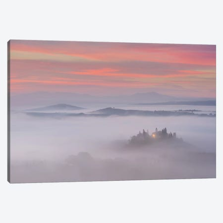 Spring In Tuscany XI Canvas Print #KRD107} by Daniel Kordan Art Print