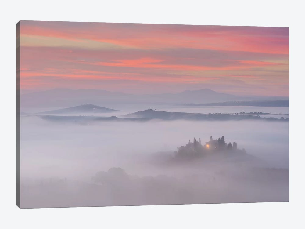 Spring In Tuscany XI by Daniel Kordan 1-piece Canvas Print
