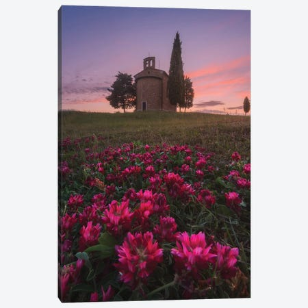 Spring In Tuscany XIII Canvas Print #KRD109} by Daniel Kordan Canvas Artwork