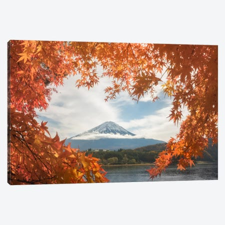 Autumn In Japan X Canvas Print #KRD10} by Daniel Kordan Canvas Print