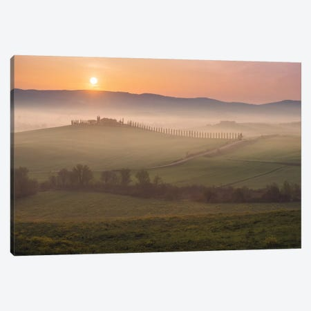 Spring In Tuscany XIV Canvas Print #KRD110} by Daniel Kordan Canvas Print