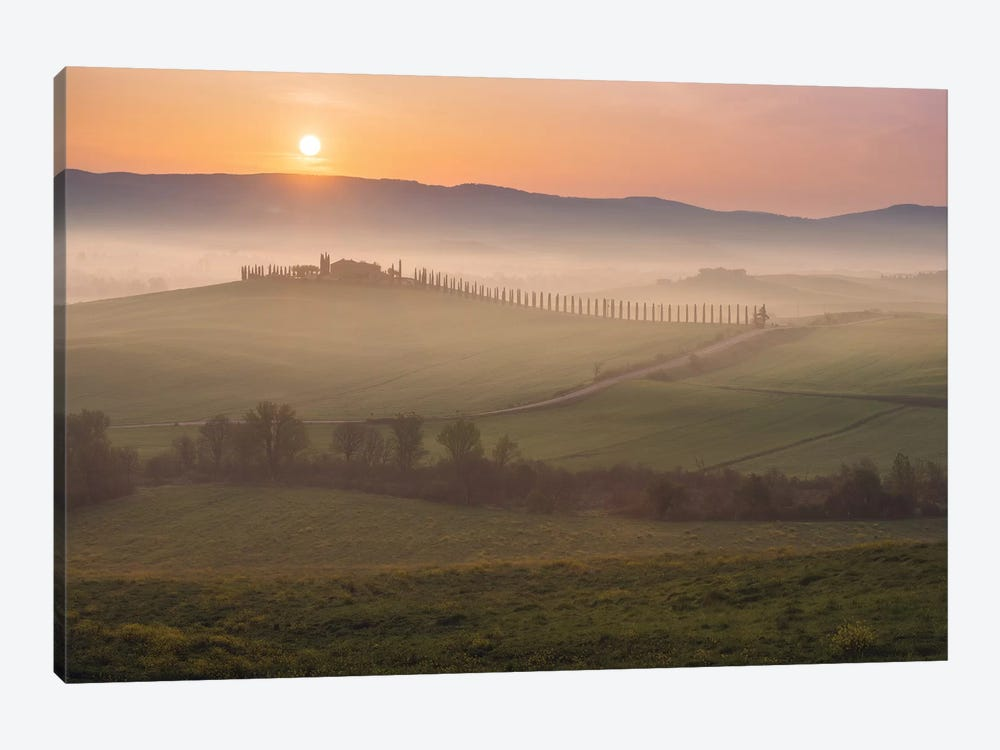 Spring In Tuscany XIV by Daniel Kordan 1-piece Canvas Art Print