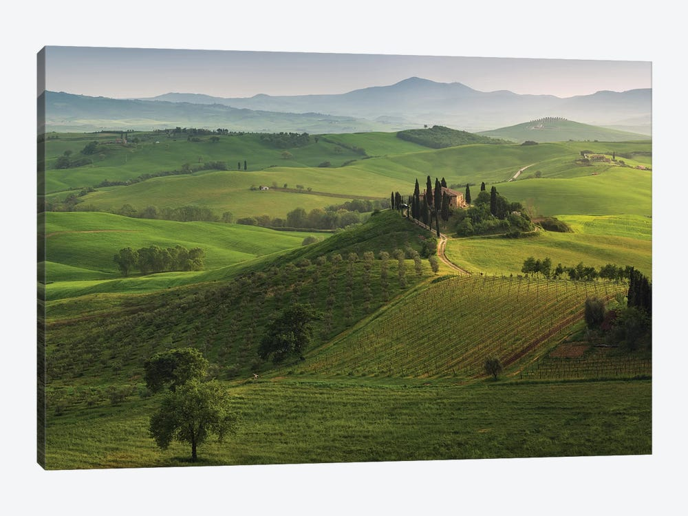 Spring In Tuscany XVI 1-piece Canvas Art Print